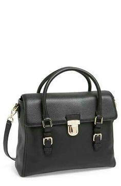 Katr Spade black leather purse