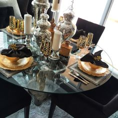 Dinning room for the chic and sleek  decor and design ideas from my home to yours. Xo