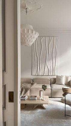 neutrals Home Decor Bedroom, Home Living Room, Apartment Living, Living Room Decor, Living Room Designs, Living Spaces, Home Room Design, Dream Home Design, Home Interior Design