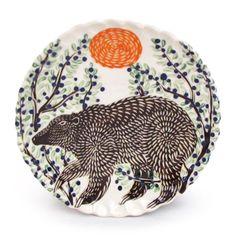 Brown Bear Dessert by ceramics artist Sue Tirrell Spirit Bear, Inspiring Things, Ginger Cats, Ceramic Artists, Brown Bear, Diy And Crafts, Bears, Cups, Objects