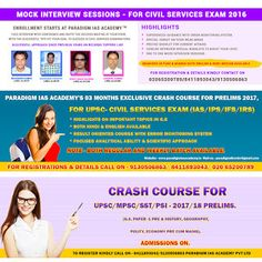 Paradigm Academy: Best Institute for IAS/PCS Exams Preparation in In...