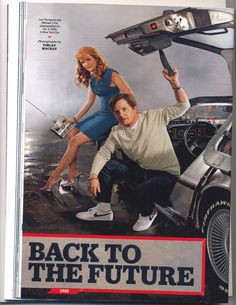 Back to the future today. Michael j Fox and lea Thompson. Famous Movies, Old Movies, Michael Fox, Bttf, Cinema, Ready Player One, Nostalgia, Back To The Future, Photo Essay