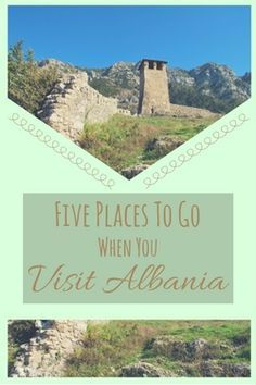 Albania is still undiscovered on the tourist trails. Find out more about the top five places to travel to when you visit Albania.