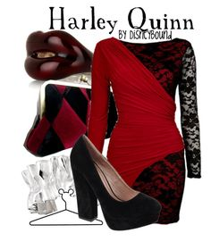 Harley Quinn inspired look Disney Bound Outfits, Disney Inspired Outfits, Themed Outfits, Birthday Outfits, Harley Quinn, Mode Rock, Estilo Disney, Character Inspired Outfits, Fandom Fashion