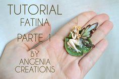 Tutorial angenioso - come creare una fatina - parte 1 LE ALI , fairy wings