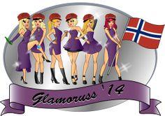 Ny russe design Glamoruss 2014! Logo Design, Princess Zelda, Logos, Fictional Characters, Art, Art Background, Logo, Kunst, A Logo