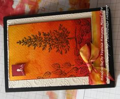 """Handcrafted by Virginia """"Wirg""""  Hampson Stamp Out Your Art With Virginia! © 2015 Stampin'Up! Demo # 4008839 Online store: http://stampoutyourartwithvirginia.stampinup.net/ Blog: http://www.stampinup.net/esuite/home/stampoutyourartwithvirginia/blog"""
