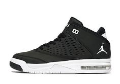 81642983006 Jordan Flight Origin 4 Junior - Black White - Kids