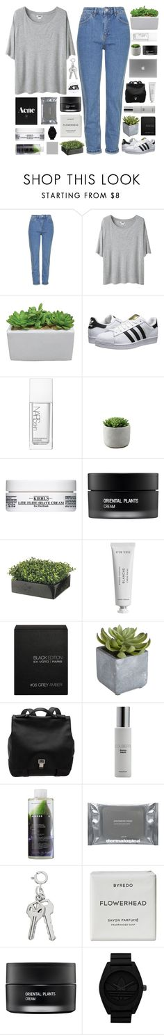"""""""march madness"""" by cheruhb ❤ liked on Polyvore featuring Topshop, Acne Studios, adidas Originals, NARS Cosmetics, Kiehl's, Koh Gen Do, Byredo, Ex Voto Paris, Pier 1 Imports and Proenza Schouler"""