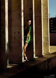 Giedre Dukauskaite | Cédric Buchet  #photography | Lanvin spring 2009