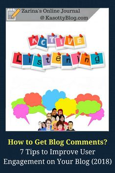 How to get comments for your blog? What steps to take to improve your blog engagement in 2018? Let's talk about this aspect of blogging – user engagement and comments. | #blog #blogging #bloggingtips #canadianblogger #lesbehonest #comments #blogissues #blogcomments
