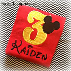 Mickey+Mouse+Head+Outline+Birthday+Shirt+by+PurpleDaisyBoutique,+$22.00