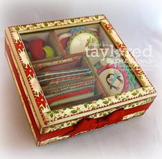 What a great idea! You can purchase the blank box.... or do it yourself with a discarded cigar box....