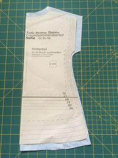 'Sofie', das kostenlose Schnittmuster für die Gr. 56-140, ist ein einfacher Tunika Schnitt mit Gummizug um den Hals.