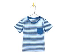 Image 1 of STRIPED SHIRT WITH POCKET from Zara