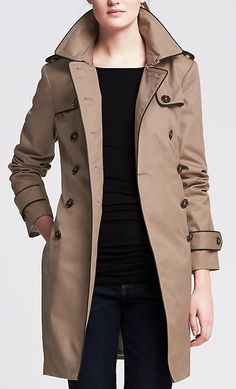cute lightweight spring time trench