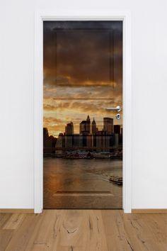 Fototapeta / naklejka na drzwi w dowolnym formacie - miasto.