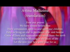"""""""Avinu Malkeinu"""" prayer sung during the Jewish New Year and Yom Kippur -- recorded by Cantor Sheila Pearl Uploaded videos (playlist)"""