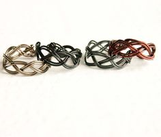 Unisex Adjustable Braided Ring Men's Jewelry by mlwdesigns on Etsy