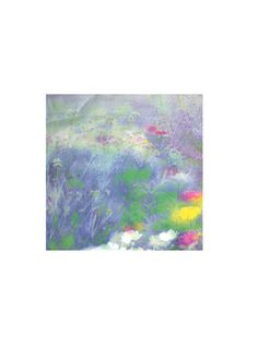 French garden - Men's Cotton Pocket Square by Rubin Original Art, French, The Originals, Pocket Square, Garden, Painting, Silk, Collection, Artist