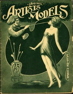 Artists and Models 1925 Fall v01n05 cover Carnahan