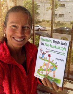 Suzanna McGee and her #athletes #book