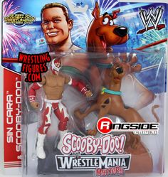 Scooby Doo & Sin Cara 2-Pack   Ringside Collectibles