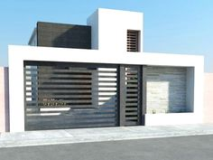 56 ideas house facade render home for 2019 is part of Facade house - Door Gate Design, House Gate Design, House Front Design, Facade Design, Modern House Design, Exterior Design, Facade House, Home Design Decor, Design Case