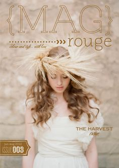 MAG ROUGE Issue 3  (cover by Elizabeth Messina)