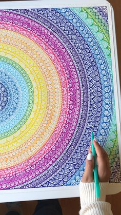 Mandala Doodle, Mandala Art Lesson, Mandala Artwork, Mandala Painting, Mandala Drawing, Mandala Sketch, Mandala On Canvas, Arte Sharpie, Sharpie Doodles