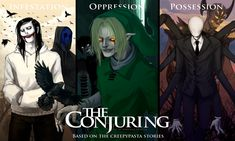 The Conjuring (Wallpaper) by SUCHanARTIST13