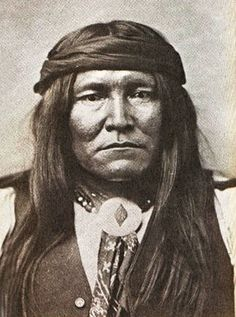 Chatto, Chiricahua Apache.  Chatto headed a delegation to Washington for a conference on July 26th, to appeal to  the Secretary of War regarding the  removal of the Apache from Fort Apache  to the panhandle of Oklahoma.