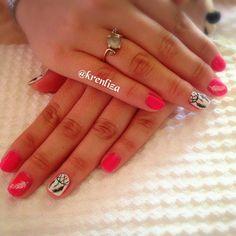 Atrapa sueños #verano #nails #manicure #nailart #iloveit