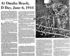 In this article, Scott Phillips searches old newspapers to find out more about the Allied attacks on German-held beaches in France on D-Day, 6 June D Day Invasion, Military Records, Dallas Morning News, 70th Anniversary, Old Newspaper, Dallas Texas, World War Ii, Genealogy, Wwii