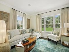 Living Room Texture Ideas. #LivingRoom #Interiors #Texture Sotheby's Homes.