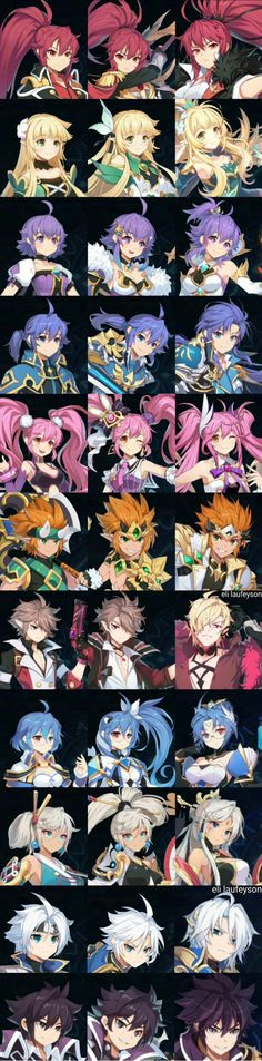 SR Heroes Limit Break || Grand Chase Character Inspiration, Character Art, Character Design, Otaku Anime, Anime Art, Elsword Anime, Anime Group, Basara, Manga Characters