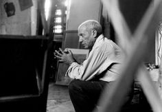 photo of Pablo Picasso .
