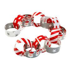 Waiting For Santa Paperchains Hanging Garland Decoration 6 Metres Christmas Paper Chains, Christmas Bunting, Merry Christmas To All, Santa Christmas, Family Christmas, Christmas Crafts, Christmas Calendar, Christmas Bedroom, Homemade Christmas