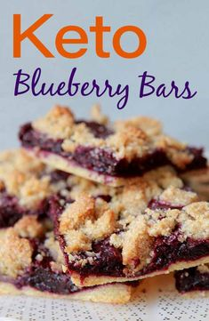 Recipes Breakfast Bars Keto blueberry breakfast bars are just the thing if you are looking for a healthy low carb fruit pastry. And each gluten-free and sugar-free blueberry bar has just 170 calories and net carbs. Blueberry Bars, Blueberry Breakfast, Blueberry Recipes, Breakfast Recipes, Dessert Recipes, Keto Breakfast Smoothie, Paleo Breakfast Bars, Healthy Low Carb Breakfast, Healthy Low Carb Snacks