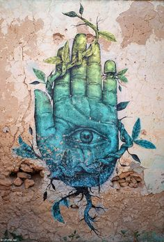 """- Alexis Diaz -  """"in Djerba Street Art expands its canvas""""  *this traditional hamlet djerbien -Mehdi Ben Cheikh- has not selected by chance. it's a Town that is full of meaning, where Muslims, Catholics Jews live peacefully *"""