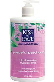 Kiss My Face                        Peaceful Patchouli Ultra Moisturizer, 16.0 Fluid Ounces , Lotion