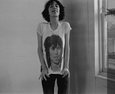 Patti Smith + Keith Richards