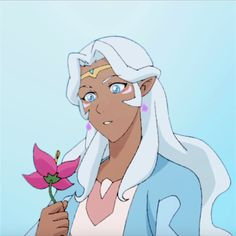 Princess Allura from Voltron Legendary Defender Form Voltron, Voltron Klance, Princess Allura, Cartoon Games, Cartoon Icons, The Victim, Character Drawing, Disney Characters, Fictional Characters