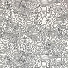 Seascape Wallaper, Winter eclectic wallpaper