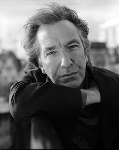 1997 -- Alan Rickman -- This is one of many photos taken of Alan Rickman by professional photographer David Harrison.
