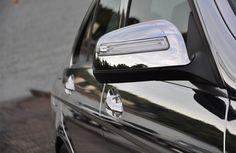 Chrome Mercedes detail,  Installation by Miller Decals, LLC