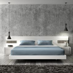 modern platform floating bed 900x900 40 Modern Beds That Will Transform A Drab Bedroom