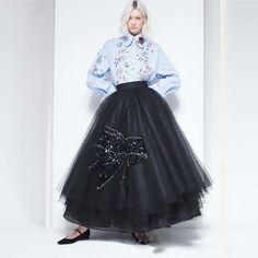 Özel Tasarlanmış 2017 Çok Gür Siyah Kelebek Parlak Kristal Puf Uzun Tutu Etek Ile Tül Etekler Kadın Kadın Etek