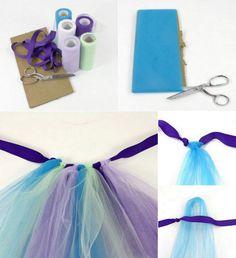 En esta ocasión vamos a aprender como hacer un tutú de ballet de la forma mas fácil, sin necesidad de coser. Esta falda tipo tutú te puede servir tanto para el disfraz de bailarina o también para combinarlo con otros...