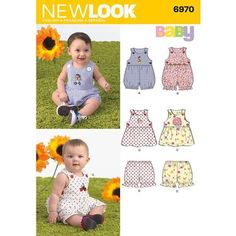 New Look 6970 Baby Coordinates  Small - Large